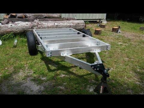 How to Build a 5x8 Aluminum Utility Trailer Step by Step