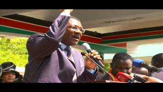 Kajwang's Requiem Service Held At SDA Maxwell Church, Nairobi