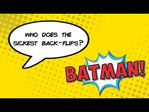 Who's the (Bat)man (LET'S GET NUTS Mix) - Patrick Stump [Lyric Video]