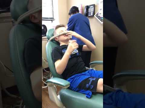 Me on Laughing Gas