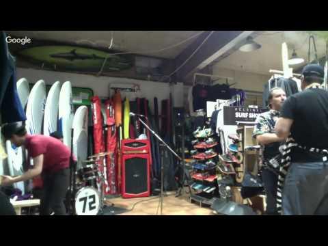 Helsinki Surf Shop Sale and Luau