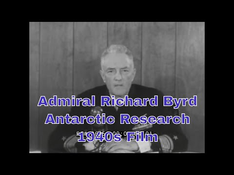 "1940's ""LIVING HISTORY"" BIOGRAPHY OF ADMIRAL RICHARD E. BYRD   ARCTIC & ANTARCTIC RESEARCH  26954"