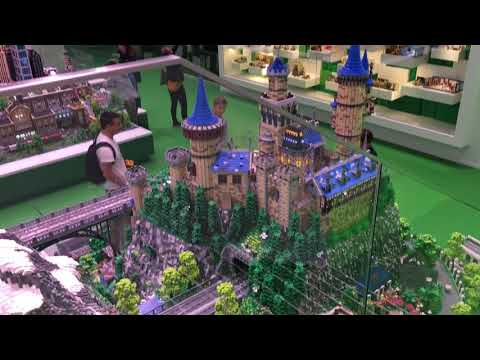 The Lego house Billund, Denmark- Explorer Zone Tour