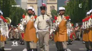 La Légion Étrangère - Défilé 14 juillet 2009