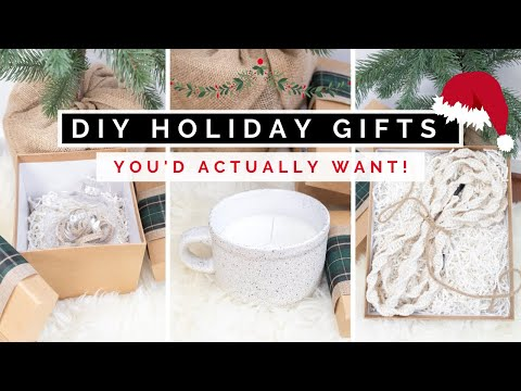 DIY CHRISTMAS GIFT IDEAS | HOLIDAY GIFTS YOU ACTUALLY WANT! AFFORDABLE AND EASY TO MAKE 2020 - YouTube