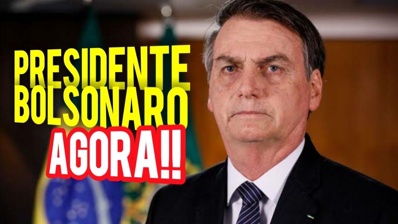 ASSISTA! Live do Presidente Jair Bolsonaro com notícias quentes direto de Brasília