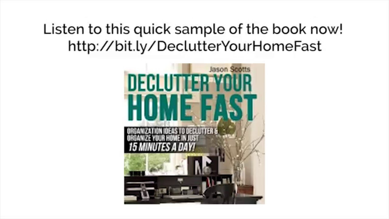 Declutter Your Home Fast: Organization Ideas To Declutter & Organize ...