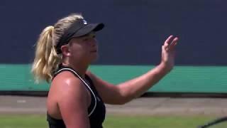 Maandag 11 juni: Highlights CoCo Vandeweghe vs Aliaksandra Sasnovich