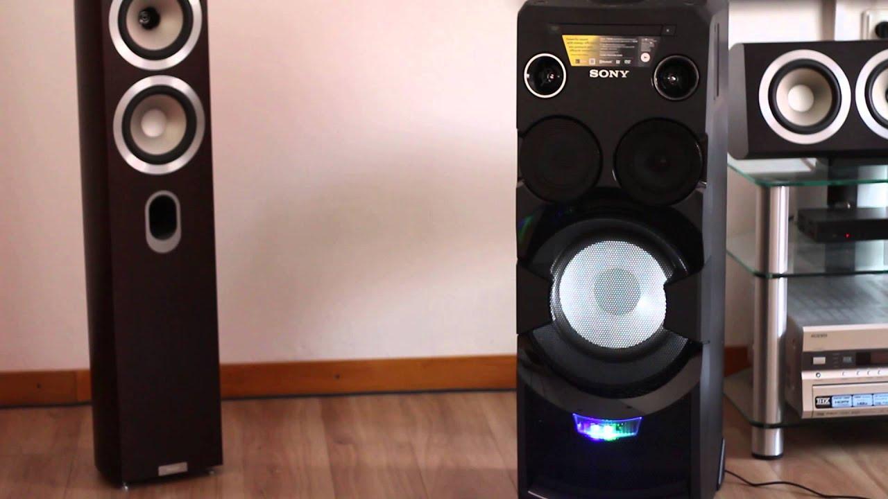 home audio system od sony mhc v7d doovi. Black Bedroom Furniture Sets. Home Design Ideas