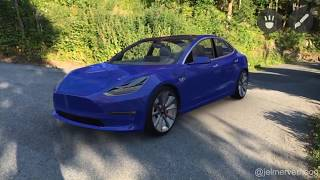Tesla Model3 in AR - Apple ARKit