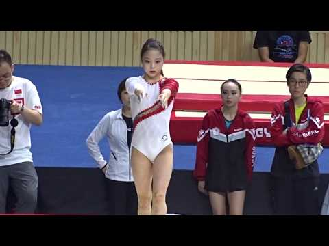 Lee Eun Ju  - beam 14th Asian Championships