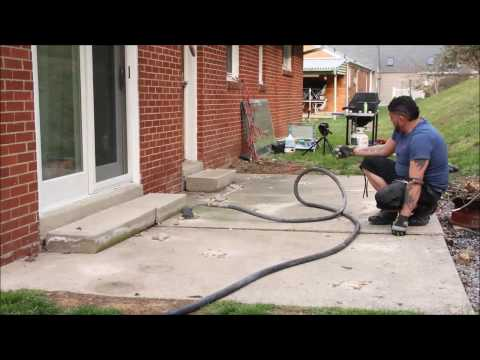 A 1 Concrete Leveling Pittsburgh Patio Repair