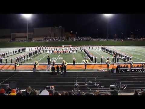 Thornapple Kellogg High School Trojan Marching Band 10/14/16