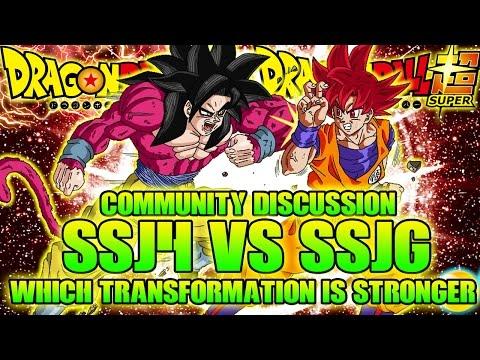SSG Vs SSJ4 (Super Saiyan God Vs Super Saiyan 4) Discussion! Super Vs GT [PART 2]