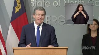 Nc Governor Issues Stay At Home Order For Monday Due To Coronavirus