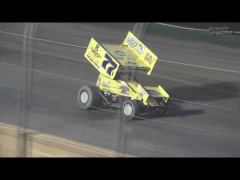 Fremont Speedway FAST 305 Sprint Car Feature - 8/5/2017