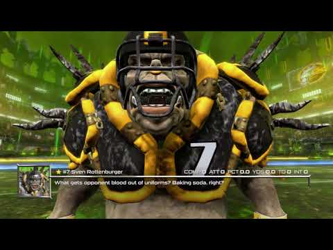 Mutant Football League for Nintendo Switch   New England Patriots vs. Pittsburgh Steelers