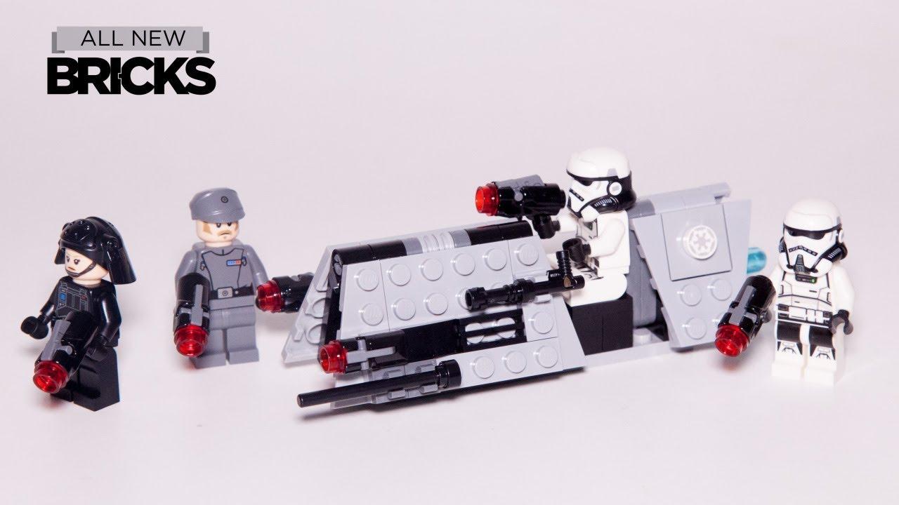Lego Star Wars 75207 Imperial Patrol Battle Pack Lego Speed Build