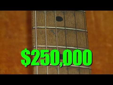 Stevie Ray Vaughan guitar sells at Dallas auction