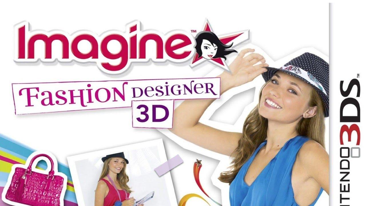 Imagine Fashion Designer 3d Gameplay Nintendo 3ds 60 Fps 1080p Youtube
