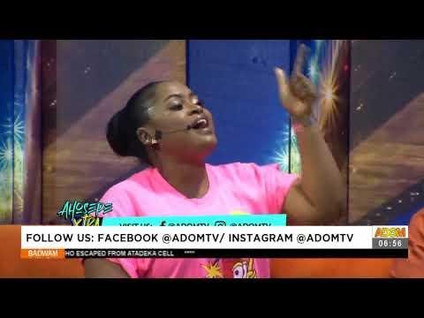 MoG & Comedian Jacinta kills it on surprise beat on Ahosepe Xtra - Badwam Ahosepe (12-4-21)