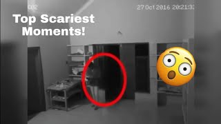 Scary moments caught on camera ...