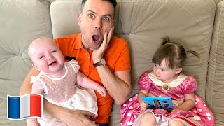 La chanson Boo Boo avec papa et Сinq Enfants Nursery Rhymes