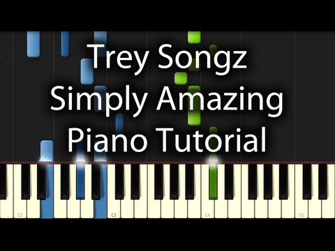 Trey Songz - Simply Amazin (Piano Tutorial)