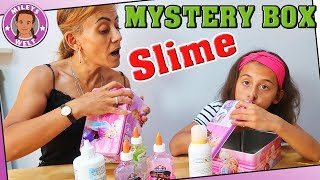 MYSTERY BOX SLIME SWITCH-UP Challenge - Mileys Welt
