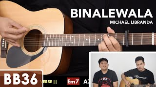 Binalewala - Michael Libranda Guitar Tutorial