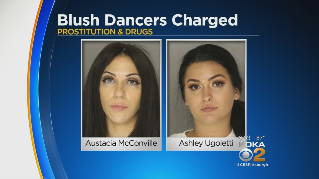 Two Blush Dancers Arrested For Prostitution Drug Charges