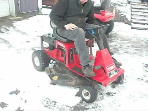 Toro 8 32 Rear Engine Rider Youtube