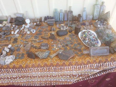 Basic Hunting Tips for Antique Bottles, Coins,Treasure & Relics at Old Australian Bush Rubbish Dumps
