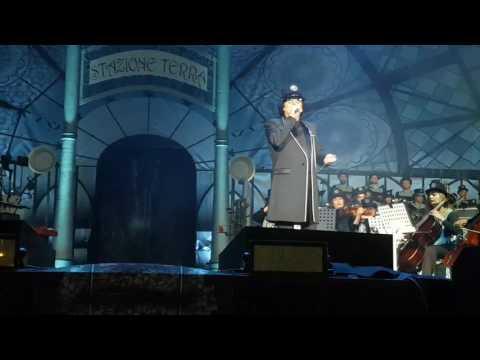 Renato  ZERO - Zerovskij 1 luglio Roma Concerto Foro Italico - Motel