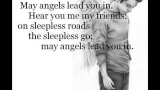 Hear You Me/May Angels Lead You In - Jimmy Eat World (lyric video).