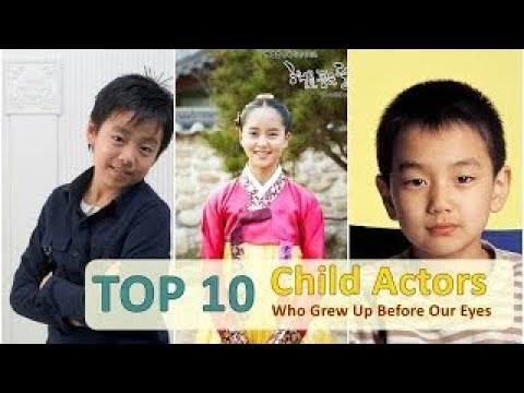 TOP 10 Famous Korean child actors all grown up