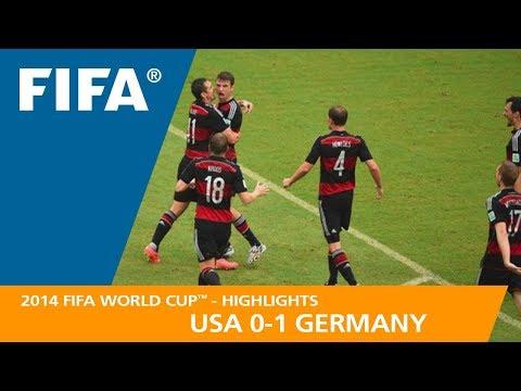 USA v GERMANY (0:1) - 2014 FIFA World Cup™