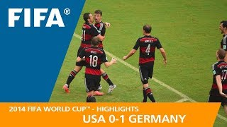 USA v GERMANY (0:1) - 2014 FIFA World Cup™