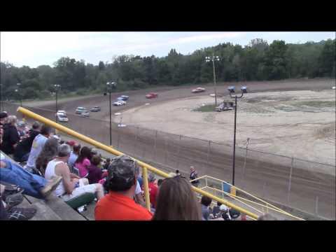 Butler Motor Speedway Street Stock Heat #1 8/8/15