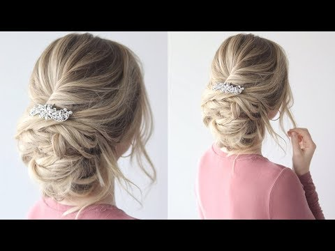 How To: Messy Updo Perfect Prom Hairstyle