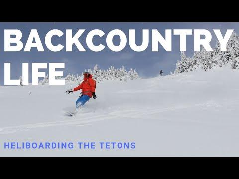 Heliboarding The Tetons - Jackson Hole And Driggs Idaho