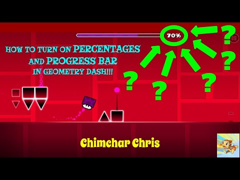 How to Turn on Percentages in Geometry Dash