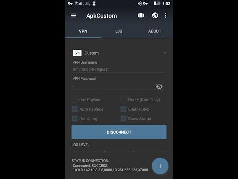 Membuat Config APK CUSTOM VPN MODE Axis dan XL