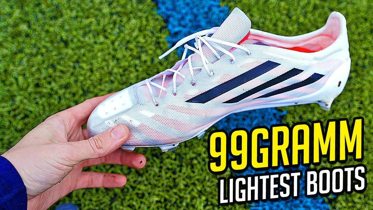 new concept 7ca02 f969f 99g adidas adiZero - The Lightest Football Boots Ever - Unboxing by  freekickerz - YouTube