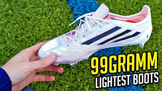 99g adidas adizero - the lightest football boots ever - unboxing by freekickerz