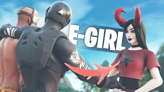 Finding my duo an E-Girl in fortnite...