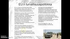 EU:n turvallisuuspolitiikka