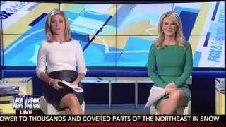 Ainsley Earhardt & Heather Childers 11-28-14