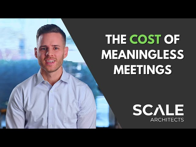 The cost of meaningless meetings