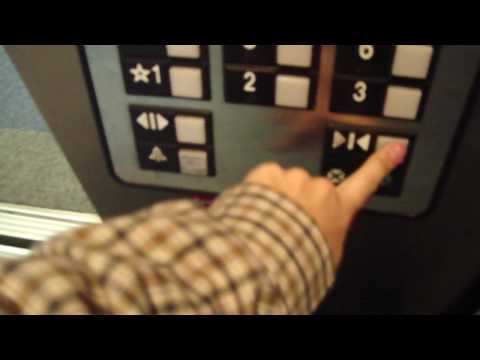 Cute Voice in an Otis Traction elevator @ Childrens Hospital Parking Deck St. Louis MO